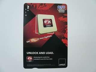 超レア!AMD FX Quoカード